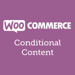 woocommerce-conditional-content
