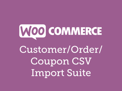 WooCommerce Customer/Order/Coupon CSV Import Suite 3.6.2