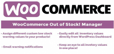 WooCommerce Out of Stock! Manager 4.3