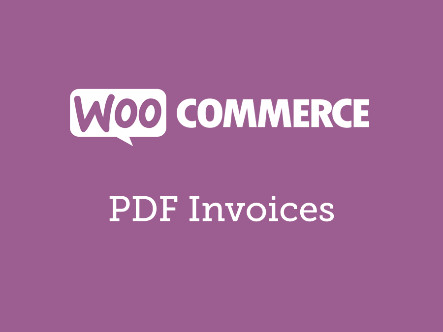 WooCommerce PDF Invoices 4.13.0