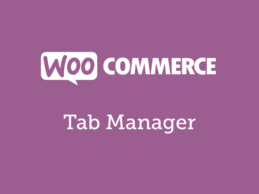 WooCommerce Tab Manager 1.14.1