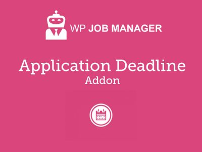 WP Job Manager Application Deadline Addon 1.2.2