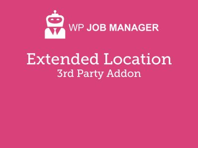 WP Job Manager Extended Location Addon 3.5.2