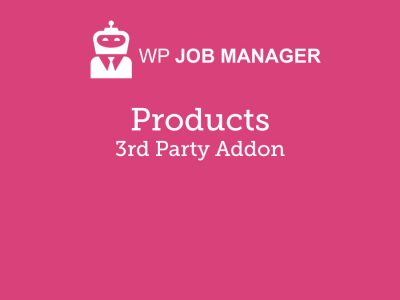 WP Job Manager Products Addon 1.8.1