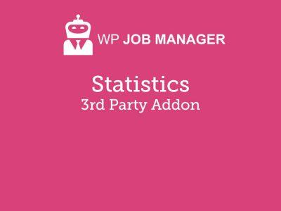 WP Job Manager Stats Addon 2.7.2