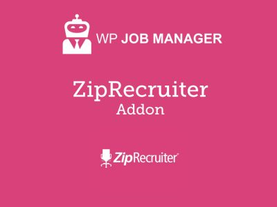 WP Job Manager ZipRecruiter Integration Addon 1.1.0