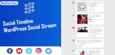 Social Timeline - WordPress Social Stream 1.2