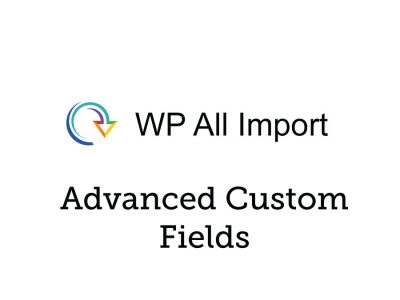 Soflyy WP All Import Pro Advanced Custom Fields Addon 3.3.1
