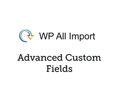 Soflyy WP All Import Pro Advanced Custom Fields Addon 3.2.6-beta-1.7