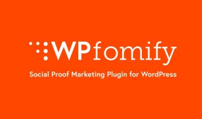 WPfomify WordPress Plugin 2.2.2