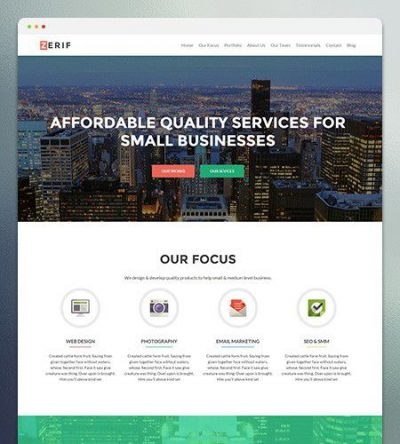 Zerif Pro WordPress Theme 2.1.6